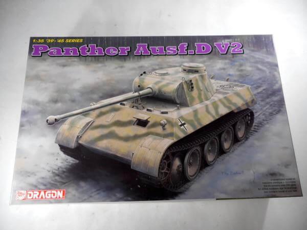 ドラゴン 1/35 パンサーD型 V2 #6822