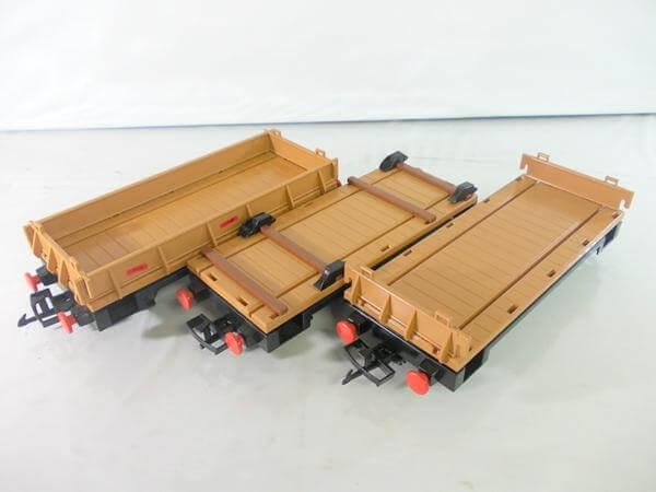 プレイモービル 貨車 3両