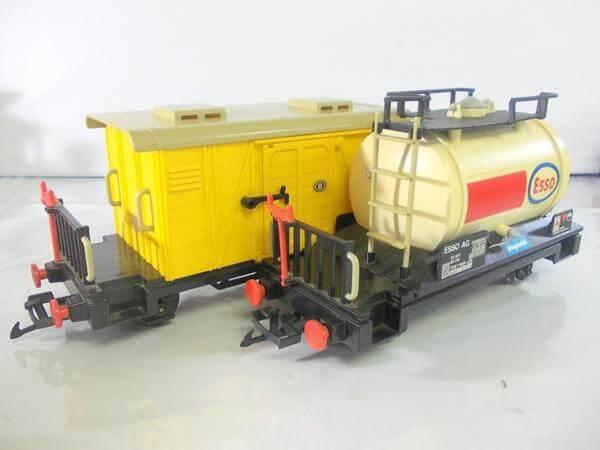 プレイモービル 貨車 タンク車(ESSO)