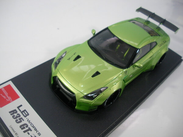 メイクアップ 1/43 【LB-works R35 GT-R】 LB002E