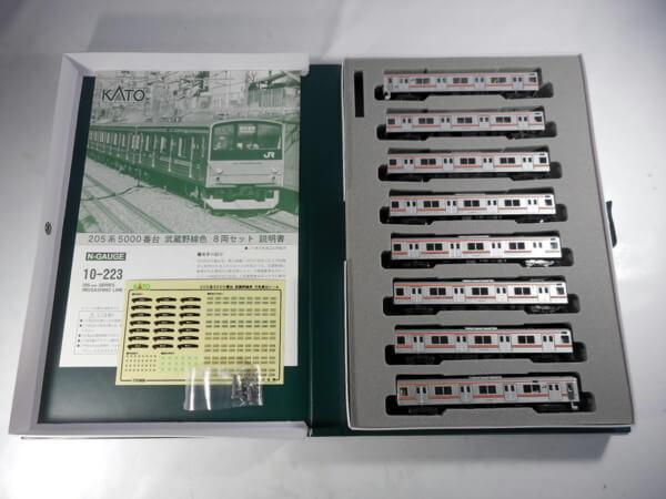 KATO 10-223 205系 5000番台 武蔵野線色 8両