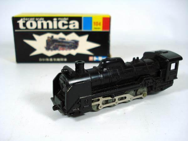 黒箱トミカ104【D51形蒸気機関車】
