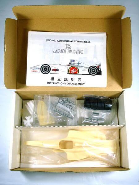 スタジオ27 1/20 BARホンダ02 日本GP 2000 FK2095