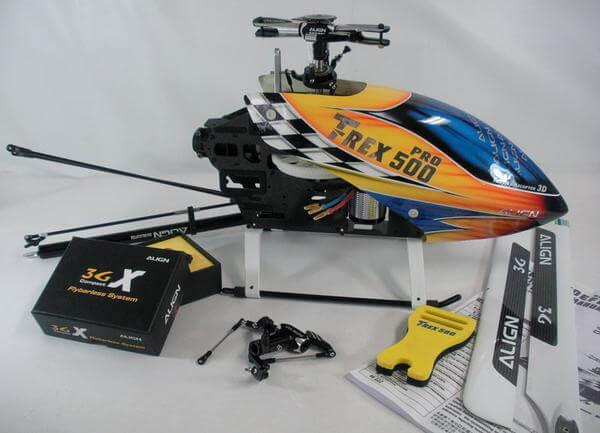 ALIGN T-REX500 FBL DFCヘッド