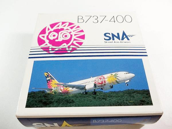 ガリバー 1/400 SNA B737-400