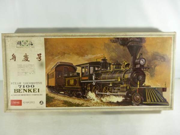 ニットー 1/50 蒸気機関車 弁慶号 #109
