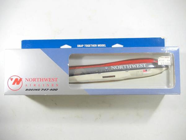 ホーガン 1/200 ノースウェスト航空 B747-400