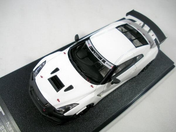 HPI1/43 ニッサンGTR ニスモTestCar2009フジ 8457