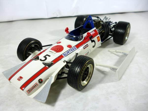 エブロ 1/20 ホンダ F1 RA301 1968 メキシコGP #220037