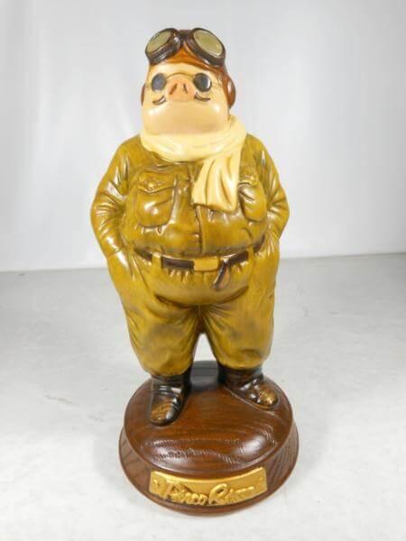 スタジオジブリ 紅の豚 ポルコロッソ 陶器オルゴール
