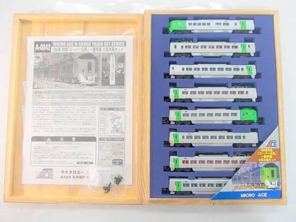 マイクロエース A0842 789系特急スーパー白鳥 一番列車 8両木箱