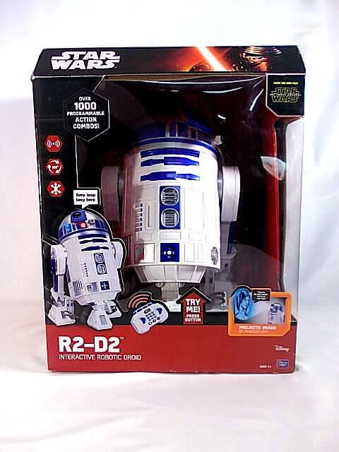 Thinkway Toys スターウォーズ R2-D2 スマートロボット トイラジコン