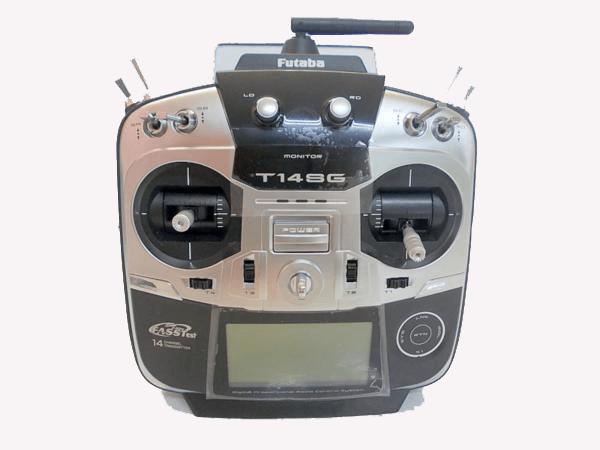 フタバの送信機は多種多様なラインナップ