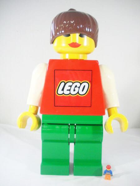 レゴ-【ジャンボフィグ-女の子】