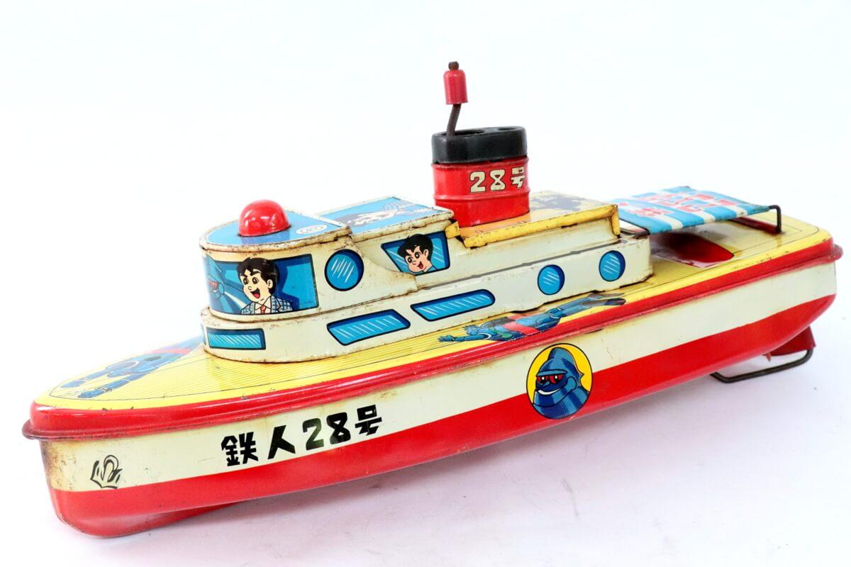 ヨネザワ【鉄人28号 ブリキボート
