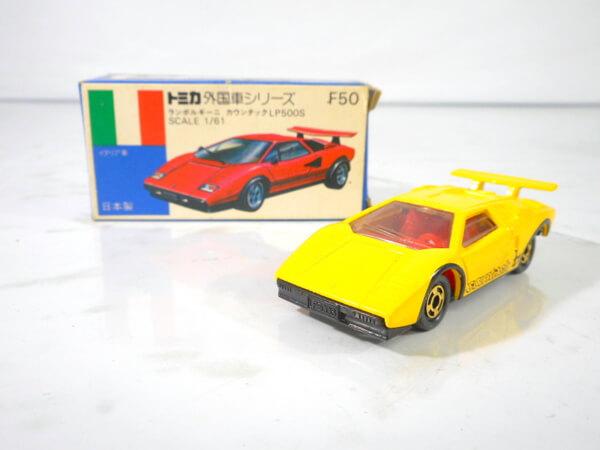 青箱トミカ 1/61【ランボルギーニ カウンタック LP500S 】