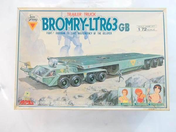 タカラ 1/72 ダグラム ブロムリー LTR63GB 4
