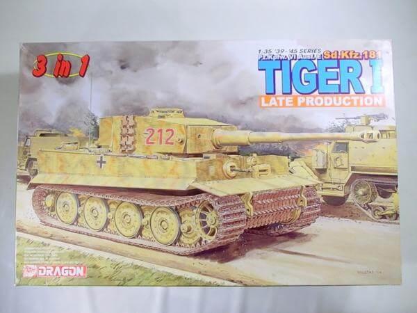 ドラゴン 1/35 タイガーⅠ 後期型(3in1) 6253