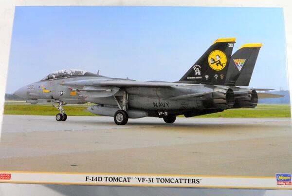 ハセガワ 1/48 【F-14D VF-31 トムキャッターズ】#9757