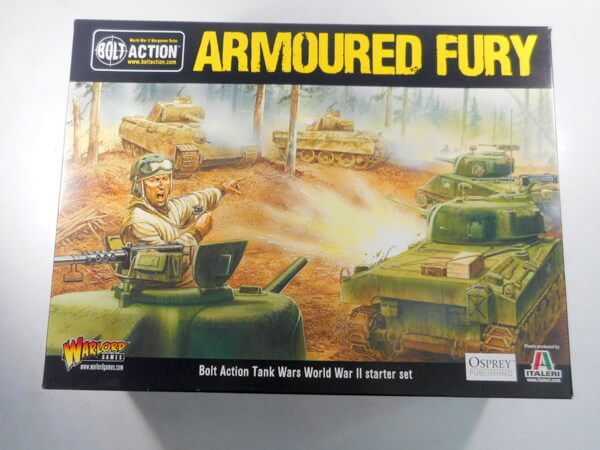WARLORD GAMES/イタレリ【ARMOURED FURY スターターセット】