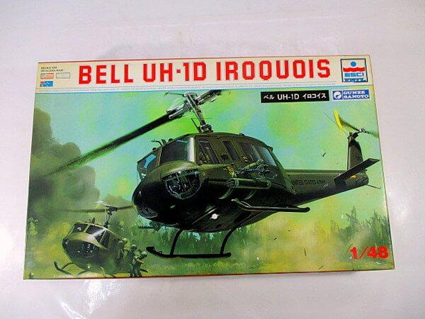 エッシー/グンゼ産業 1/48【ベル UH-1D イロコイス】208 ESCI