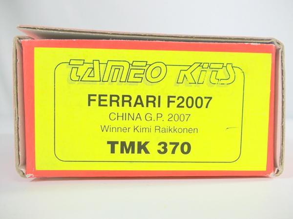 TAMEO 1/43 フェラーリ F2007 メタルキット TMK370