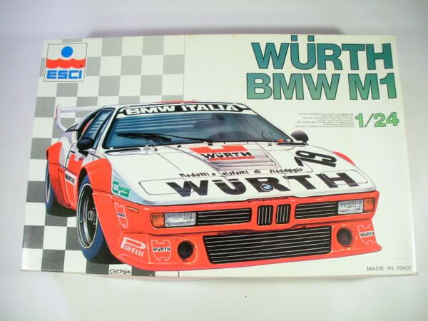 エッシー 1/24 【WURTH BMW M1】 3051