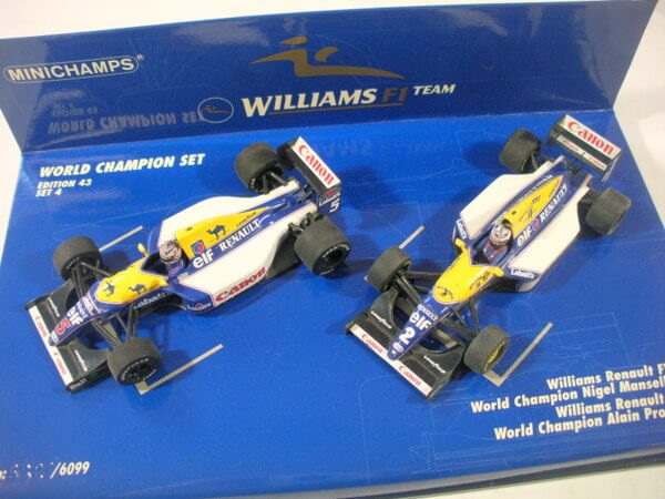 PMA1/43 ウィリアムズF1 ワールドチャンピオンセット
