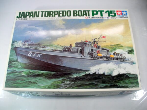 タミヤ 1/72 【魚雷艇PT-15】79002