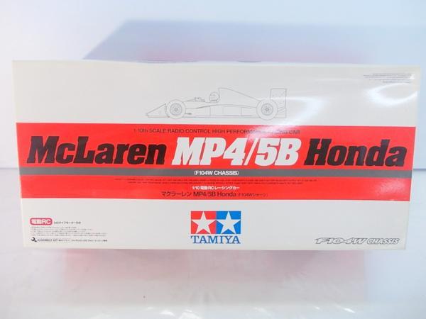 タミヤ 1/10 F104W マクラーレン MP4/5B ホンダ 84192