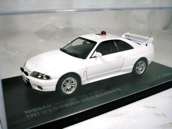 レイズ【1/43 日産スカイラインGT-R(R33)パトカー】H7439702