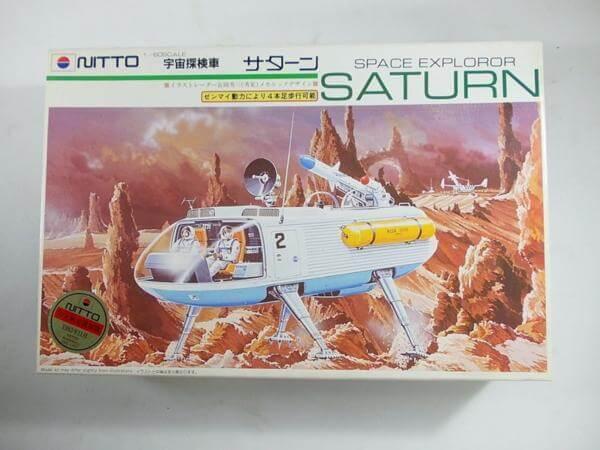ニットー 1/35宇宙探索車 サターン ゼンマイ動力