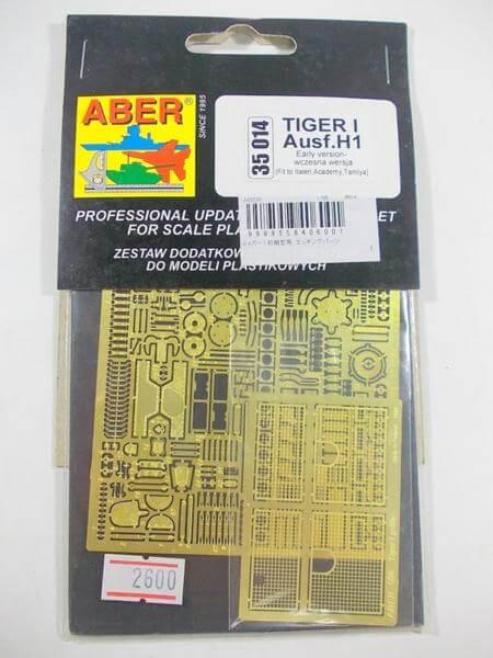 ABER 1/35 タイガーⅠ 初期型 エッチング パーツ 35014