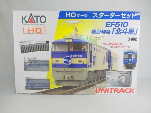 KATO 3-002 EF510 寝台特急「北斗星」スターターセット