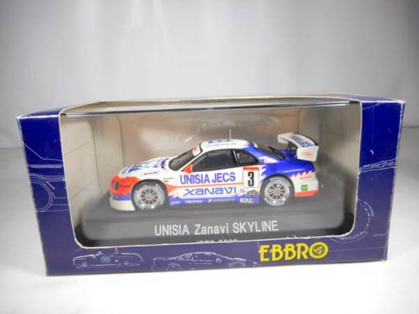 エブロ 1/43 GT-R JGTC2000 UJ ZANAVI #3 #126