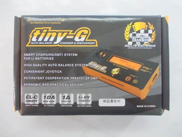 ELANGEARS Tiny-G 充放電器 EL-04AD