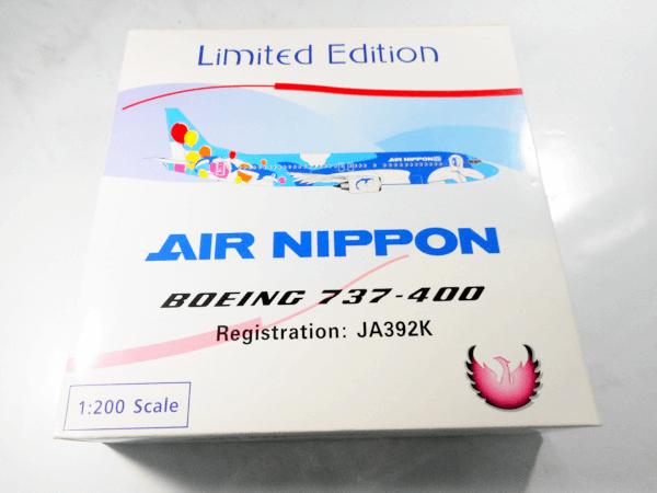 フェニックス 1/200 AIR NIPPON B737-400 JA392K