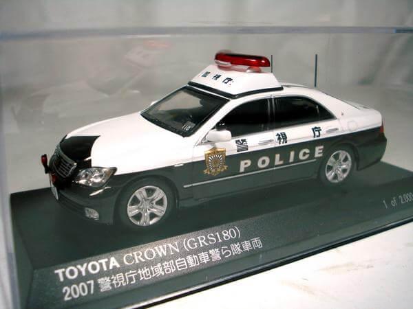 レイズ【1/43 トヨタクラウン パトカー 2007】H7430701