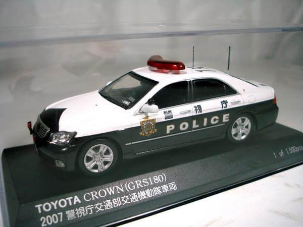 レイズ【1/43 トヨタクラウンパトカー2007(1交6)】H7430702