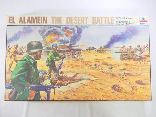 エッシー 1/72 エル・アラメイン 砂漠の戦い 2003