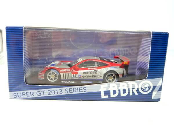 エブロ 1/43 【SUPER GT500 `2013 Weider Modulo HSV-010】44920