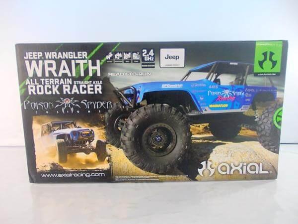 アキシャル 1/10 JEEP WRANGLER WRAITH ROCK RACER AX90031