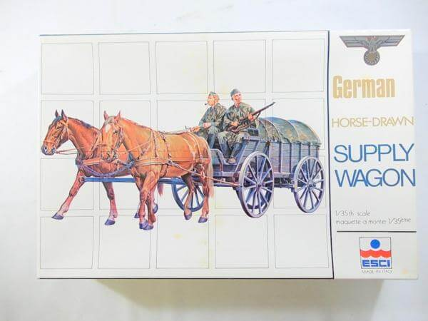 エッシー 1/35 ドイツ軍補給馬車 5010