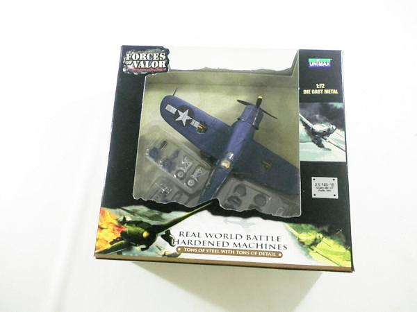 UNIMAX 1/72 U.S.F4U-1D コルセア VMF-323