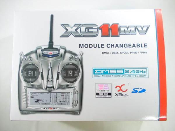 KO PROPO XG11MV G712X DMSS 2.4GHz