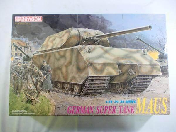 ドラゴン 1/35 ドイツ 超重戦車 マウス 6007