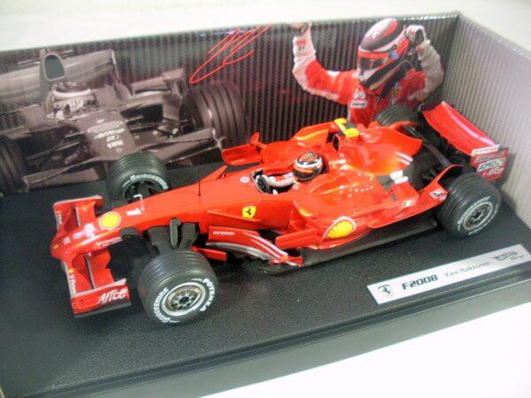 ホットウィール 1/18【F2008 Kimi Raikkonen】L8781