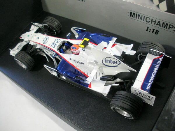 PMA 1/18 【BMW ザウバー F1.08 R.KUBICA 2008 #4】100080004