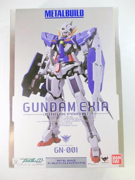 METAL BUILD ガンダムエクシア&エクシアリペアⅢ GN001