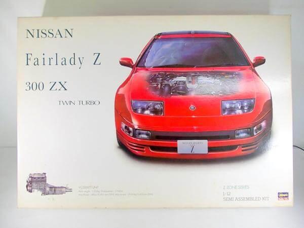 ハセガワ 1/12 フェアレディZ 300ZX ツインターボ 51051